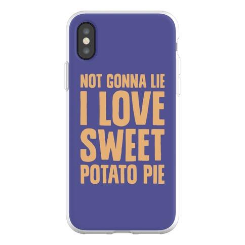 Not Gonna Lie I Love Sweet Potato Pie Phone Flexi-Case