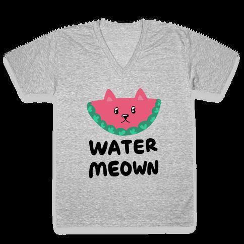 Watermeown V-Neck Tee Shirt