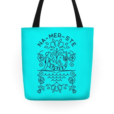 Na-Mer-Ste Mermaid Yoga Tote