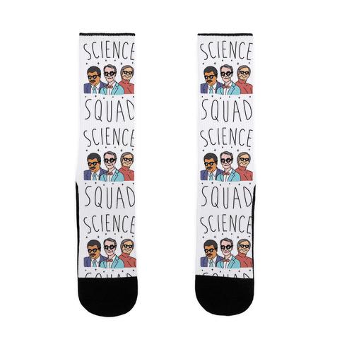 Science Squad Sock