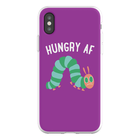 Hungry AF Caterpillar Phone Flexi-Case