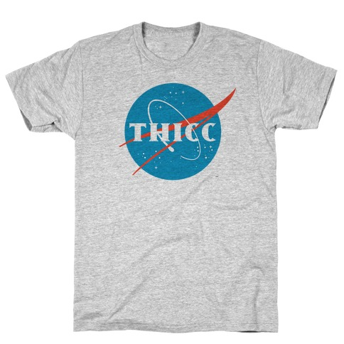 THICC NASA Parody T-Shirt