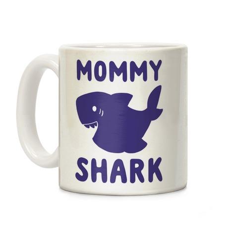 Mommy Shark Coffee Mug