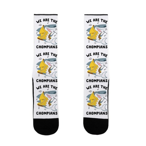 We Are The Chompians Sock