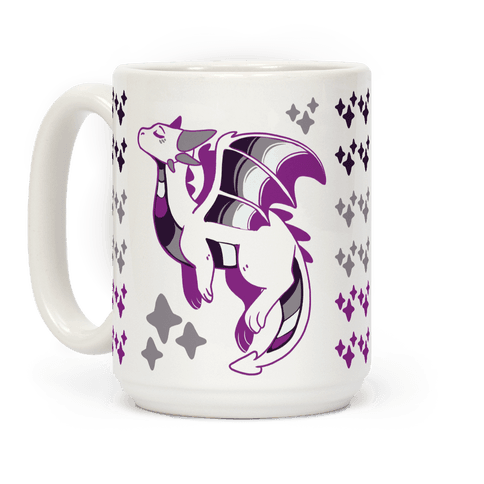 Ace Pride Dragon Coffee Mug