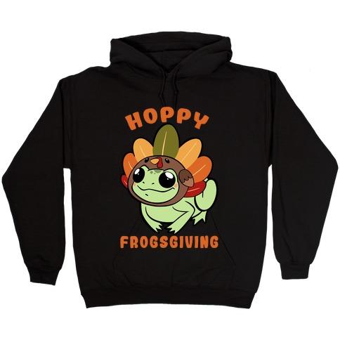 Hoppy Frogsgiving Hooded Sweatshirt