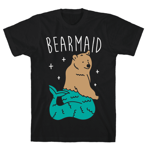 Bearmaid Mens T-Shirt