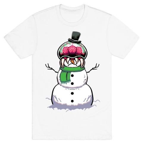 Metroid Snowman T-Shirt
