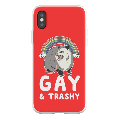 Gay and Trashy Possum Phone Flexi-Case