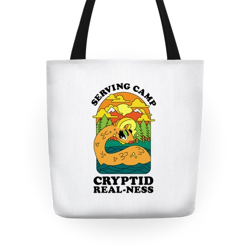 Serving Camp Cryptid Real-Ness Tote