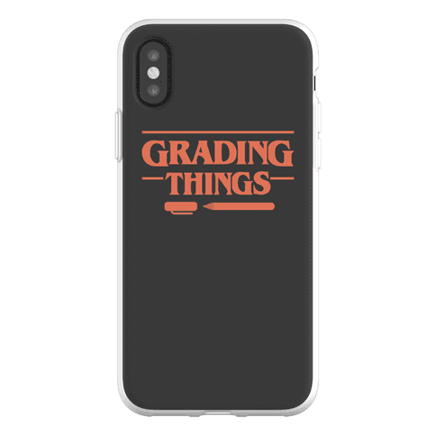 Grading Things Parody Phone Flexi-Case
