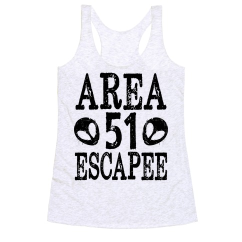 Area 51 Escapee Racerback Tank Top