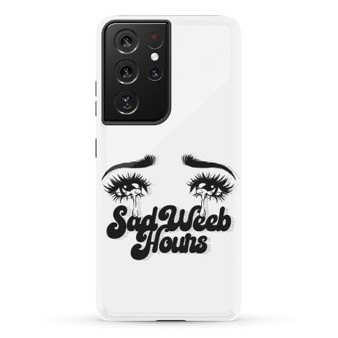 Sad Weeb Hours Phone Case