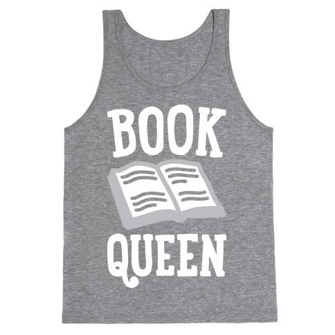 Book Queen Tank Top