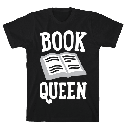 Book Queen Mens T-Shirt