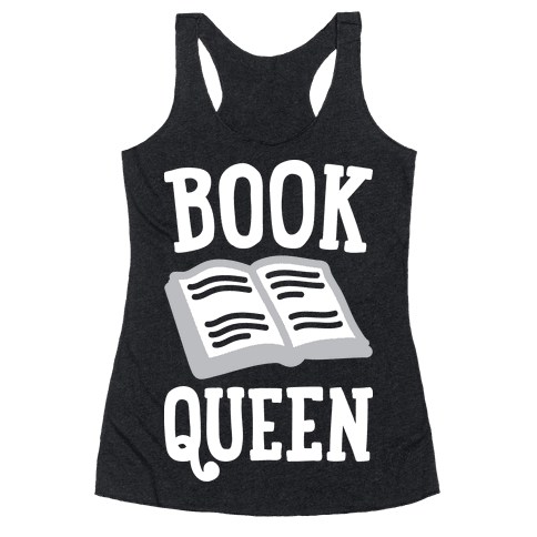 Book Queen Racerback Tank Top