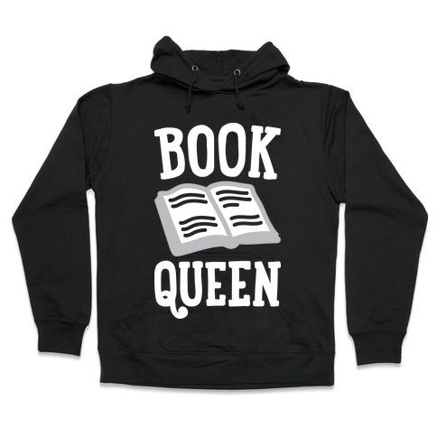 Book Queen Hooded Sweatshirt