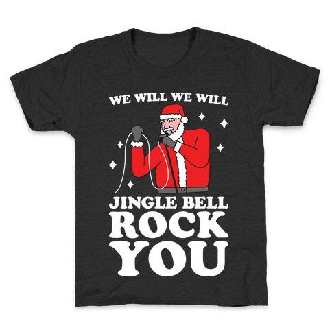 We Will Jingle Bell Rock You Parody Kids T-Shirt