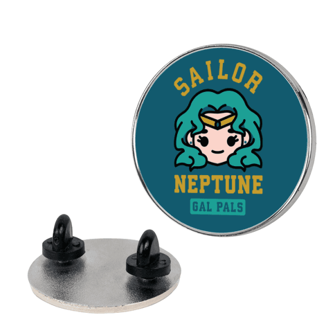 Sailor Neptune Gal Pal Pin
