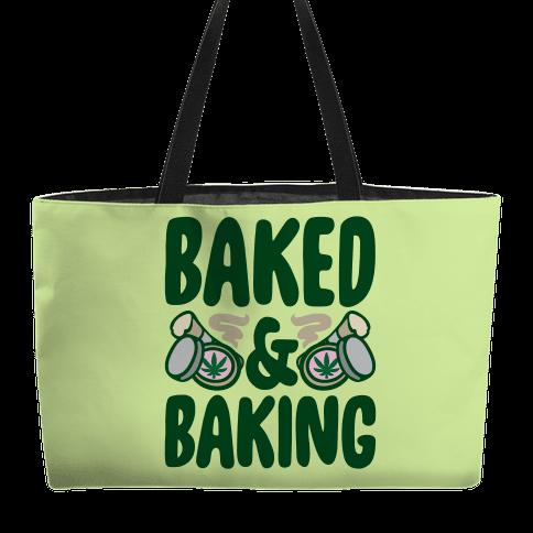 Baked & Baking Weekender Tote
