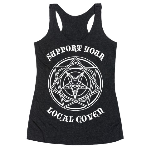 Support Your Local Coven Racerback Tank Top