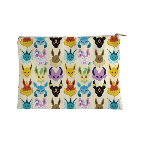 Eeveelution Pattern Accessory Bag