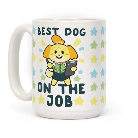 Best Dog on the Job - Isabelle Coffee Mug