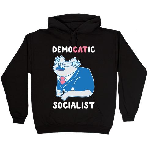 DemoCATic Socialist Hooded Sweatshirt