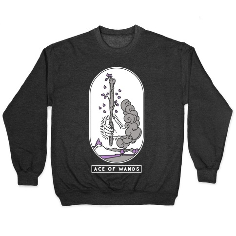 Ace of Wands Asexual Pride Pullover