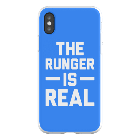 The Runger Is Real Phone Flexi-Case