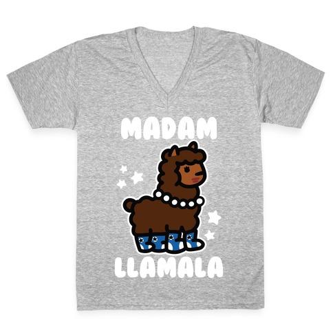 Madam Llamala V-Neck Tee Shirt