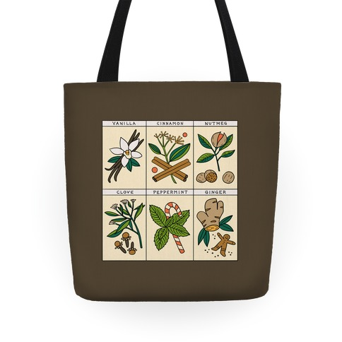 Holiday Spice Botanicals Tote