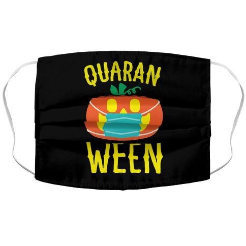 Quaran-Ween Accordion Face Mask