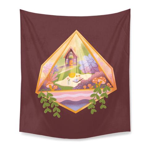 Cottagecore Terrarium Tapestry