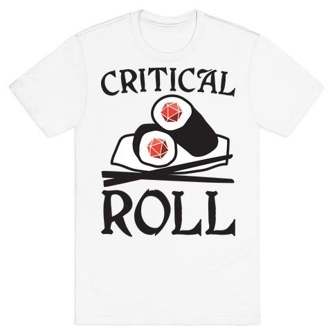Critical Roll Sushi DnD T-Shirt