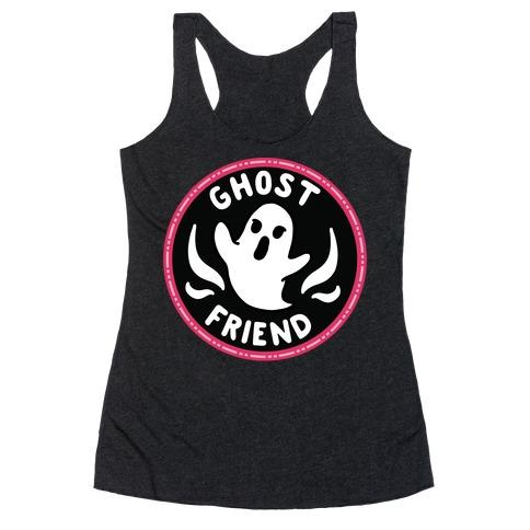 Ghost Friend Culture Merit Badge Racerback Tank Top