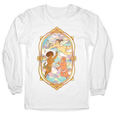 Modern Cherubs Long Sleeve T-Shirt