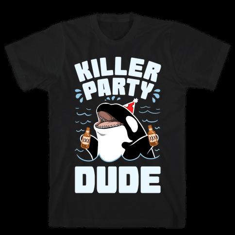 Killer Party Dude Mens/Unisex T-Shirt