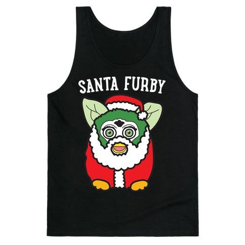 Santa Furby Tank Top