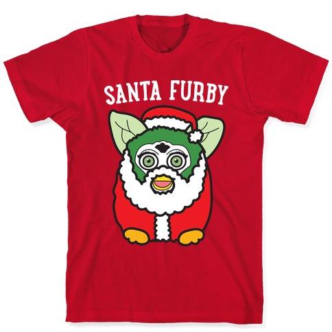 Santa Furby T-Shirt