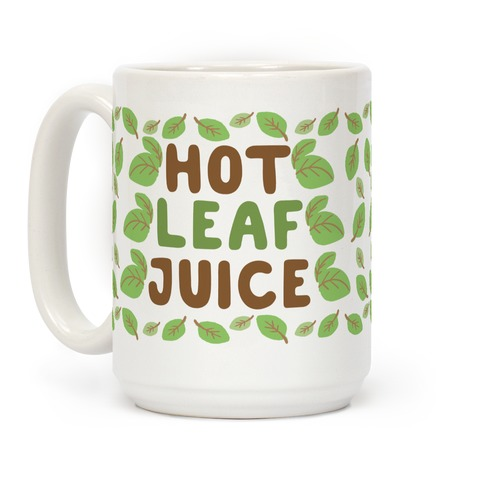 Hot Leaf Juice Coffee Mug