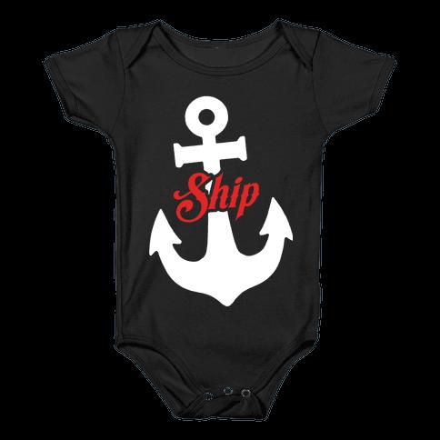 Ship Mates (Ship) Baby Onesy