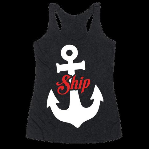 Ship Mates (Ship) Racerback Tank Top