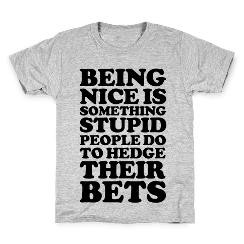 Hedge Their Bets Kids T-Shirt