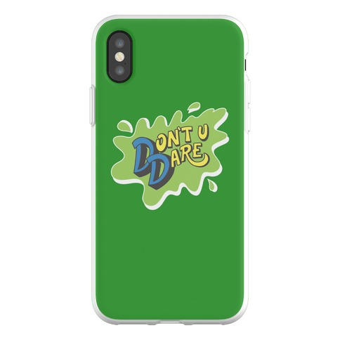 Don't U Dare 90s Parody Phone Flexi-Case