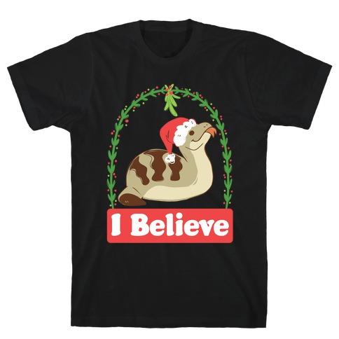 I Believe in the Christmas Tsuchinoko T-Shirt