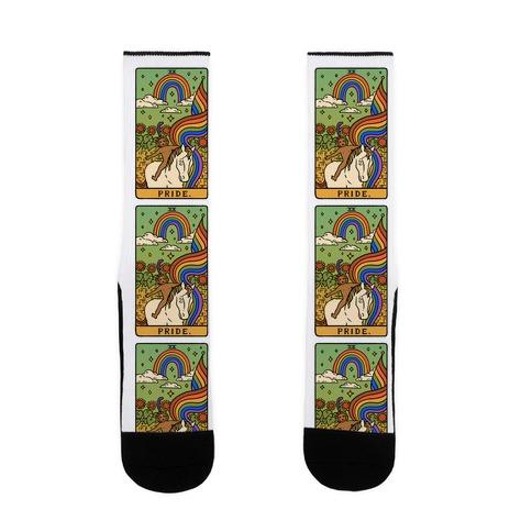 Pride Tarot Sock