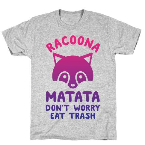 Raccoona Matata Ombre T-Shirt