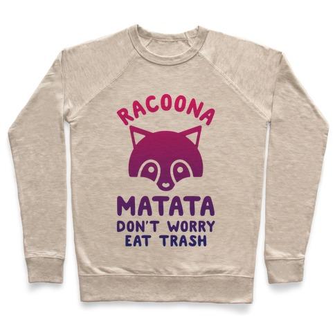 Raccoona Matata Ombre Pullover