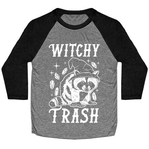 Witchy Trash Baseball Tee